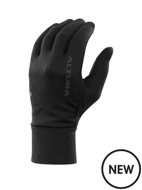 altura-liner-fleece-cycling-glove-black