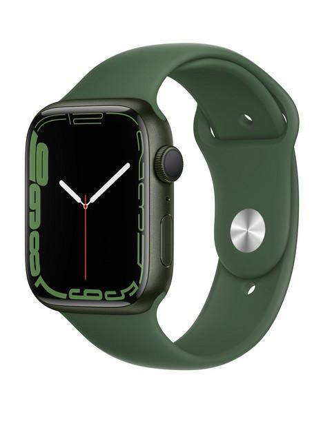 apple-watch-series-7-gps-45mm-green-aluminium-case-with-clover-sport-band