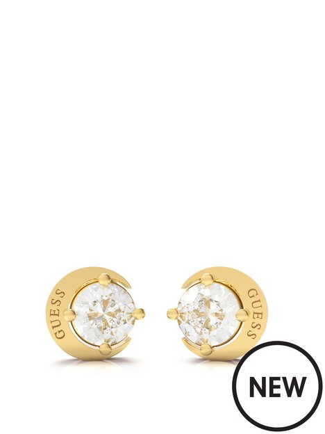 guess-guess-moon-phases-ladies-stud-earrings