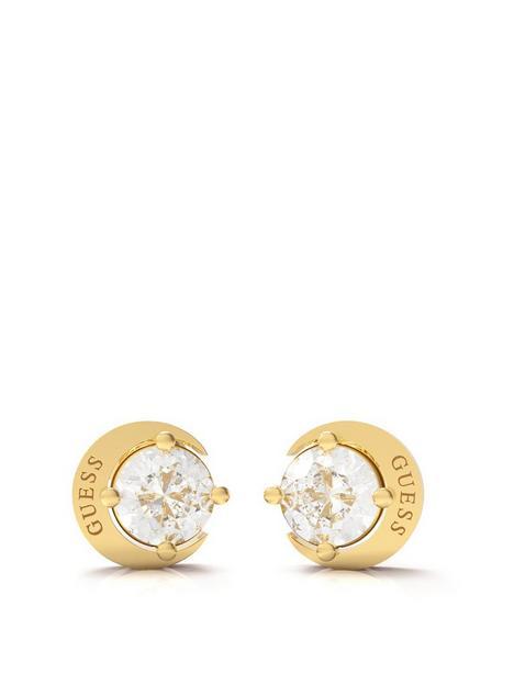guess-moon-phases-ladies-stud-earrings