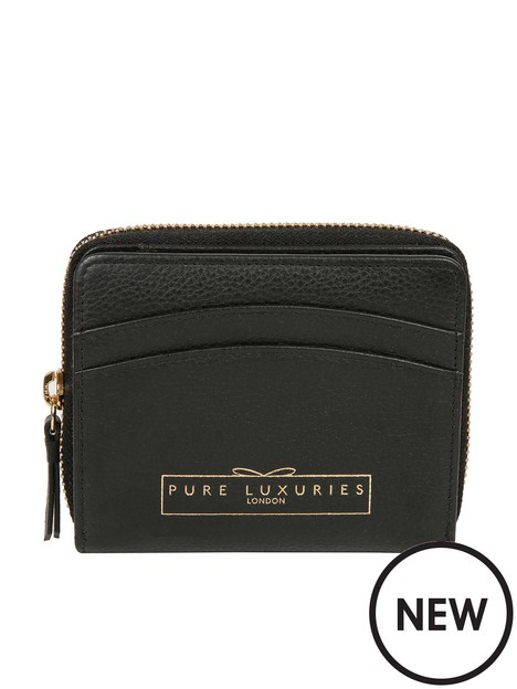 pure-luxuries-london-emely-leather-small-zip-round-purse-black