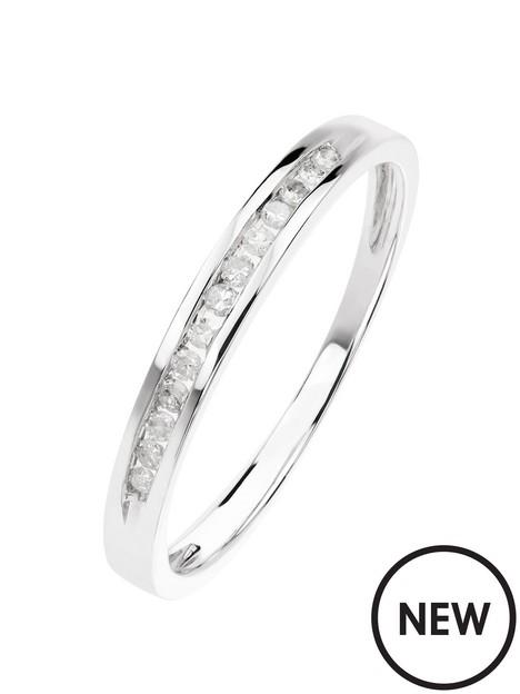 love-diamond-9ct-white-gold-010ct-diamond-channel-set-half-eternity-ring
