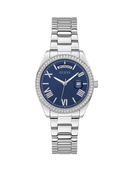 guess-luna-stainless-steel-ladies-watch