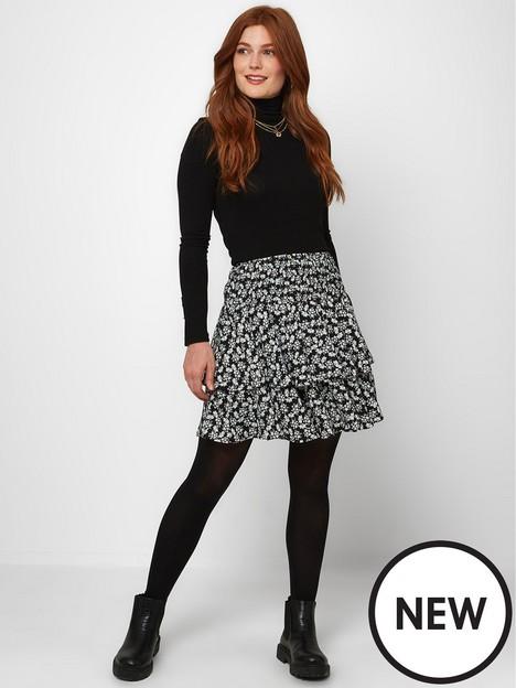 joe-browns-joe-browns-delicate-ditsy-rara-skirt--blackwhite