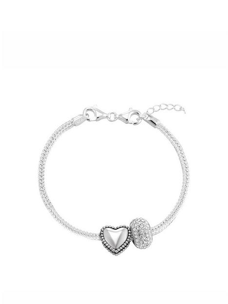 the-love-silver-collection-sterling-silver-charm-bracelet-with-heart-crystal-charm
