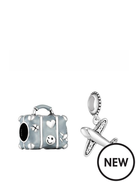 the-love-silver-collection-sterling-silver-set-of-2-travel-charms