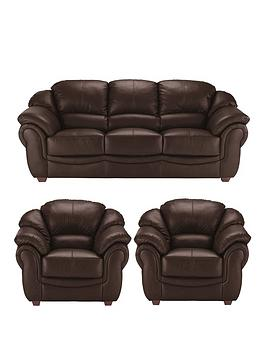 napoli-leather-3-seater-sofa-2-armchairs-set-buy-and-save