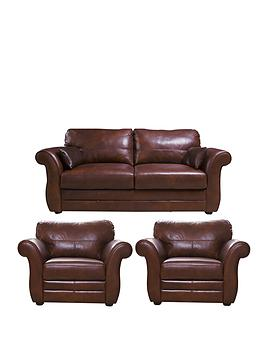 vantage-3-seaternbspleather-sofa-armchairs-buy-and-save