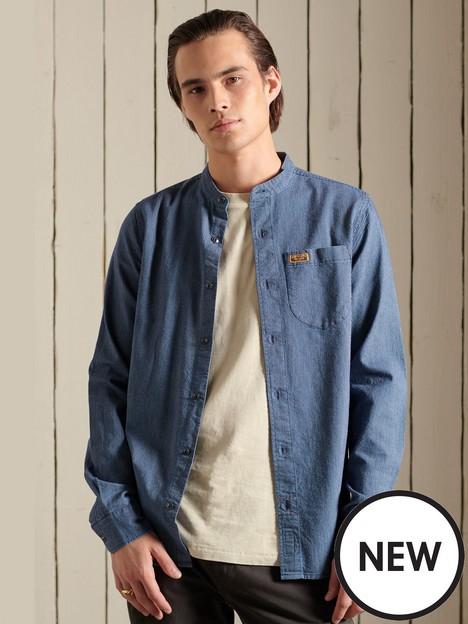 superdry-indigo-henley-workwear-shirt
