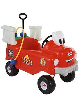 little tikes spray n rescue fire truck | littlewoodsireland.ie